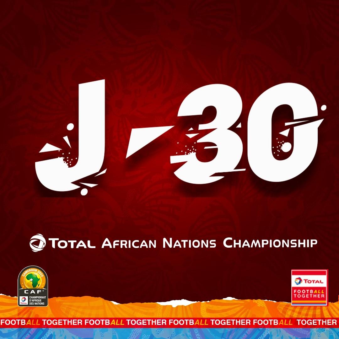 Total rdc championat africaine de nations 2020