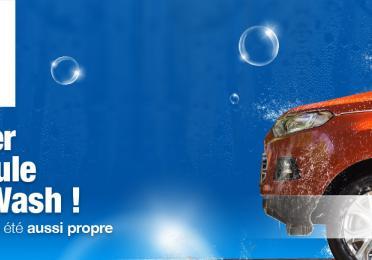 Wash  *Promotion valable du 16 mars au 15 avril 2020
